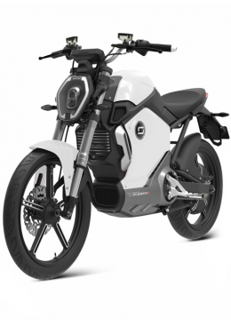 Super Soco TS1200R Electric Motorcycle White