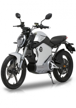 Super Soco TS1200R Electric Motorcycle Silver