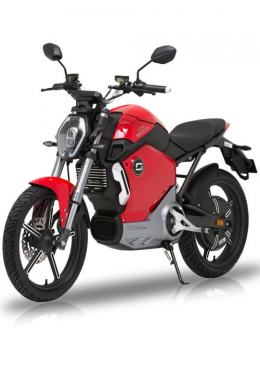 Super Soco TS1200R Electric Motorcycle Red
